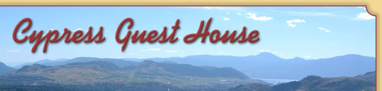 Cypress Guest House - Okanagan Rental House in Vernon/Coldstream BC